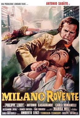 Постер фильма Разборки в Милане (1973)