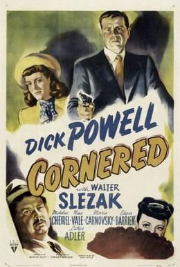 Постер фильма Загнанный в угол (1945)