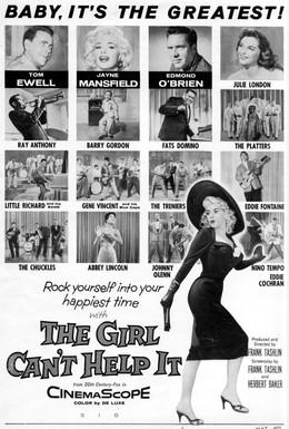 Постер фильма Эта девушка не может иначе (1956)