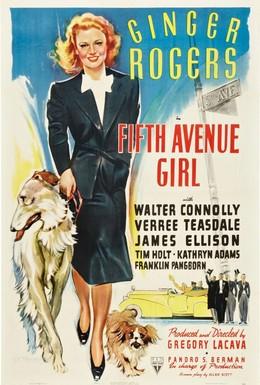 Постер фильма Девушка с пятой авеню (1939)