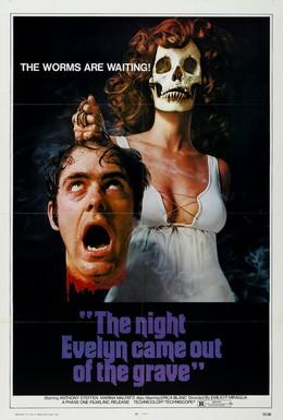 Постер фильма Ночью Эвелин вышла из могилы (1971)