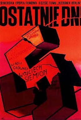 Постер фильма Последние дни (1969)