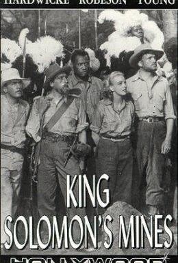 Постер фильма Копи царя Соломона (1937)