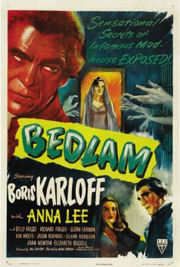 Постер фильма Бедлам (1946)