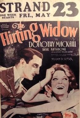 Постер фильма Кокетливая вдова (1930)