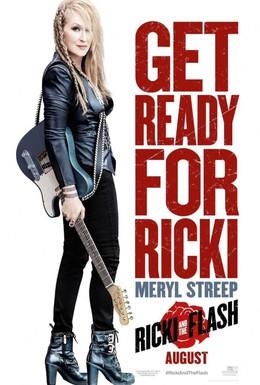 Постер фильма Рики и Флэш (2015)