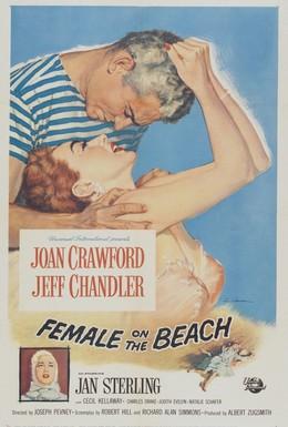Постер фильма Женщина на пляже (1955)