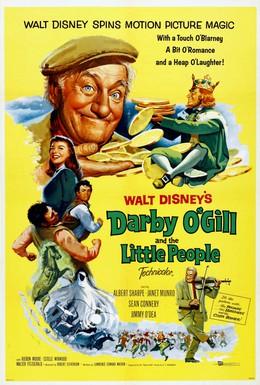 Постер фильма Дарби О'Гилл и маленький народ (1959)