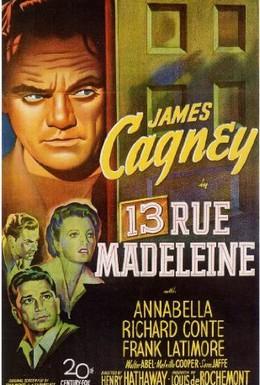 Постер фильма Дом 13 по улице Мадлен (1946)