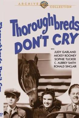 Постер фильма Чистокровки не плачут (1937)