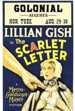 Постер фильма Алая буква (1926)