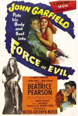 Постер фильма Силы зла (1948)