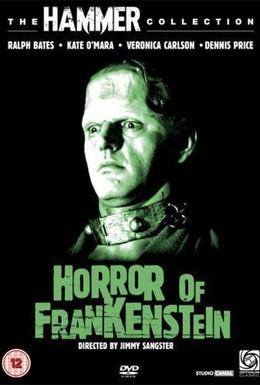 Постер фильма Ужас Франкенштейна (1970)
