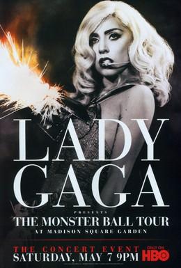 Постер фильма Lady Gaga Presents: The Monster Ball Tour at Madison Square Garden (2011)