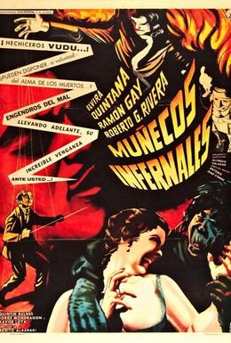 Постер фильма Дьявольские люди-куклы (1961)