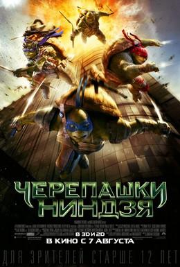 Постер фильма Черепашки-ниндзя (2014)