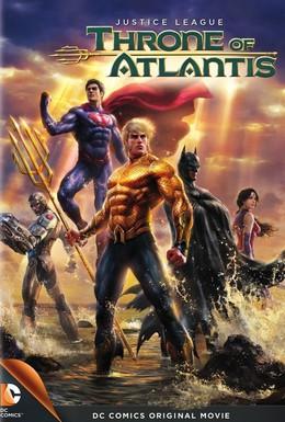 Постер фильма Лига Справедливости: Трон Атлантиды (2015)