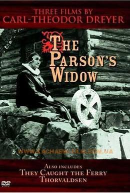 Постер фильма Вдова пастора (1920)