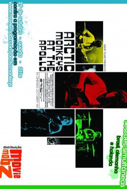 Постер фильма Arctic Monkeys at the Apollo (2008)