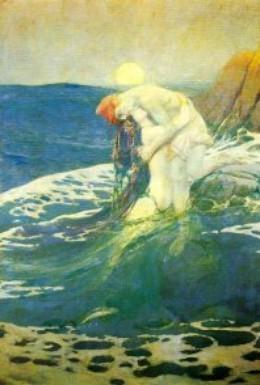 Постер фильма Русалка (1910)