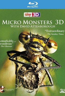 Постер фильма Микромонстры 3D с Дэвидом Аттенборо (2013)