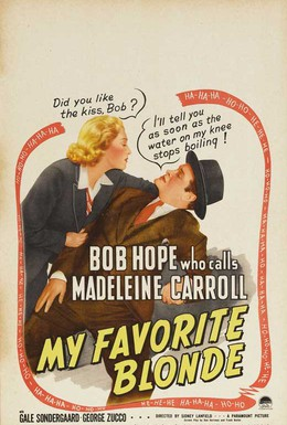 Постер фильма Моя любимая блондинка (1942)