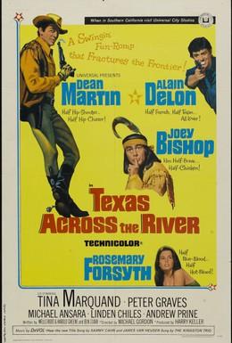 Постер фильма Техас за рекой (1966)