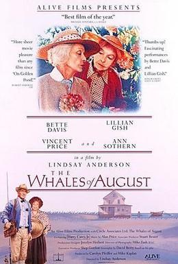 Постер фильма Августовские киты (1987)