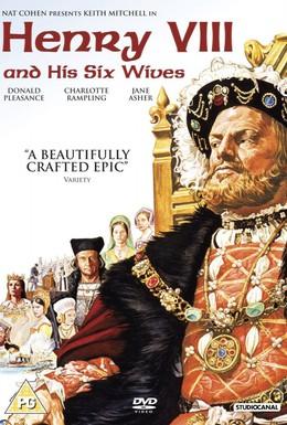 Постер фильма Генрих VIII и его шесть жен (1972)