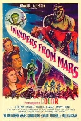 Постер фильма Захватчики с Марса (1953)