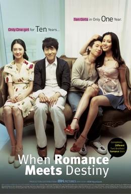 Постер фильма Когда любовь борется с судьбой (2005)