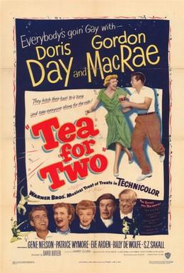 Постер фильма Чай для двоих (1950)