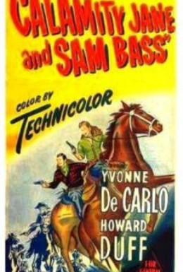 Постер фильма Каламити Джейн и Сэм Басс (1949)