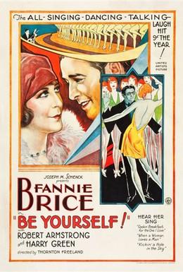 Постер фильма Будь собой! (1930)