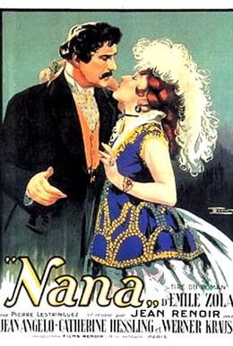 Постер фильма Нана (1926)