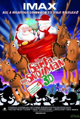 Постер фильма Санта против Снеговика (2002)