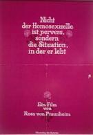 Извращенец не гомосексуалист, а общество, в котором он живет (1971)