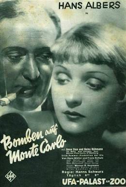Постер фильма Бомбы над Монте-Карло (1931)
