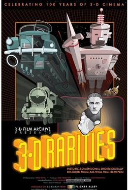 Постер фильма История возникновения и развития 3Д-стерео технологий (2015)