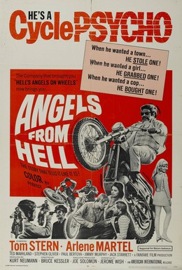Постер фильма Ангелы из ада (1968)
