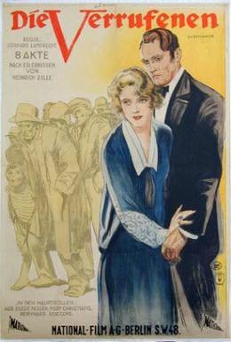 Постер фильма Отверженные (1925)