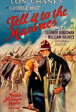 Постер фильма Скажите это морякам (1926)