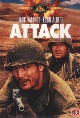 Постер фильма Атака (1956)
