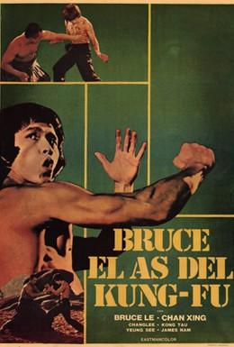 Постер фильма Брюс и кунг-фу монастыря Шао-Линь (1977)
