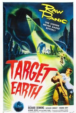 Постер фильма Цель – Земля (1954)