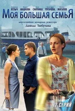 Постер фильма Моя большая семья (2012)