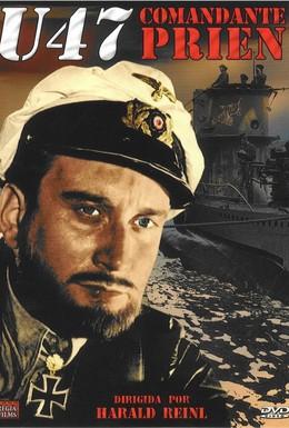 Постер фильма U-47. Капитан-лейтенант Прин (1958)