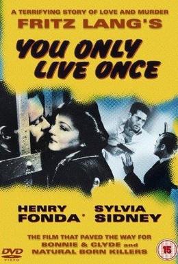 Постер фильма Живем один раз (1937)