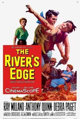 Постер фильма Берег реки (1957)
