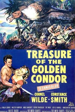 Постер фильма Сокровище Золотого Кондора (1953)
